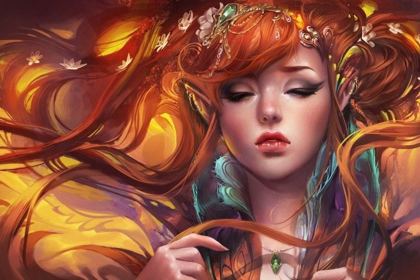 274 Red Hair Hd Wallpapers Backgrounds Wallpaper Abyss .