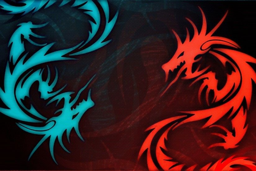 Wallpapers For > Black And Blue Dragon Wallpaper