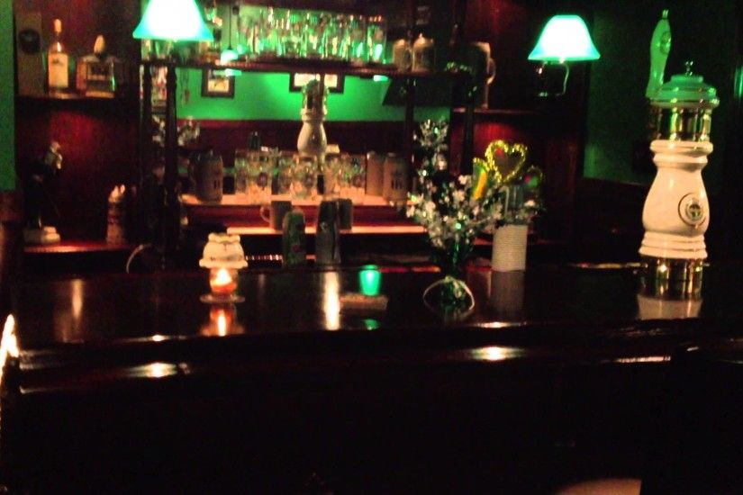 Basement Irish Pub Man Cave 1920x1080
