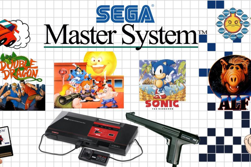 Duck Hunt select screen that so many owners of the original NES were  familiar with by creating a tribute to the SEGA Master System: