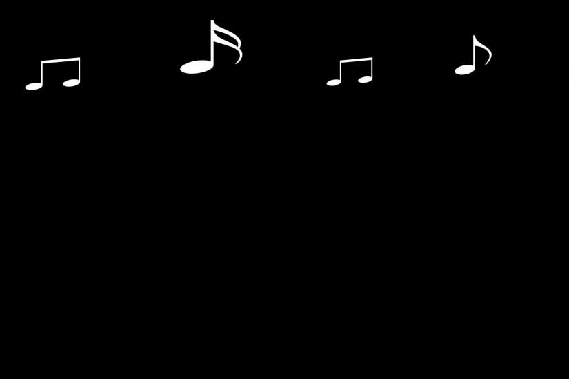 music notes background 1920x1080 tablet