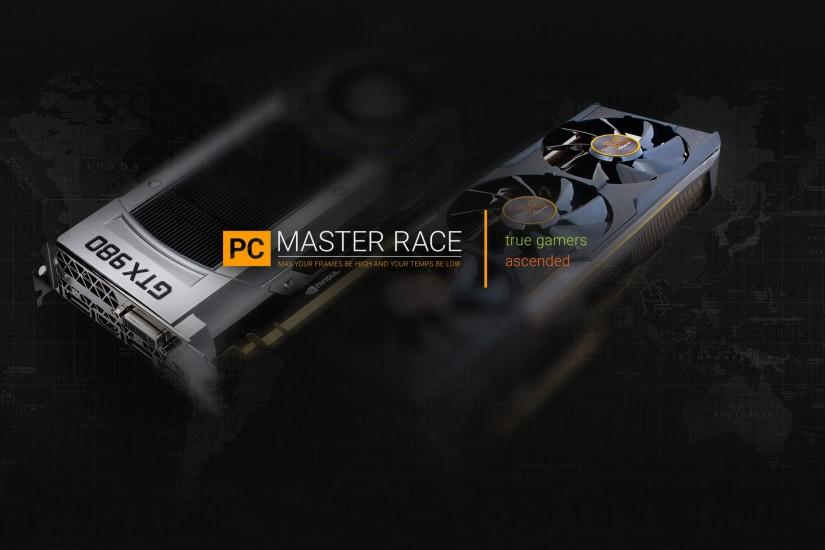 widescreen pc master race wallpaper 2560x1440