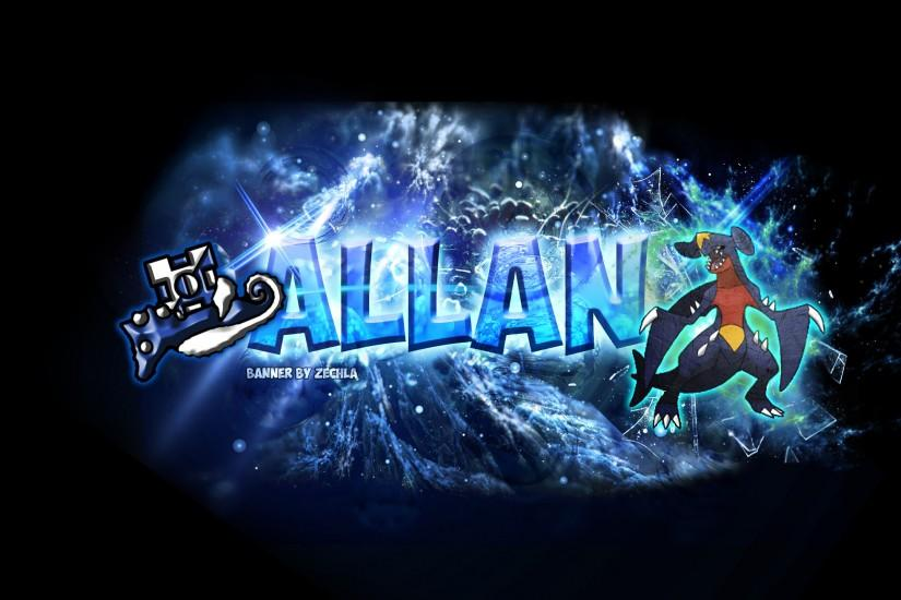 ... 'Geometry Dash' Allan's YouTube Banner ...