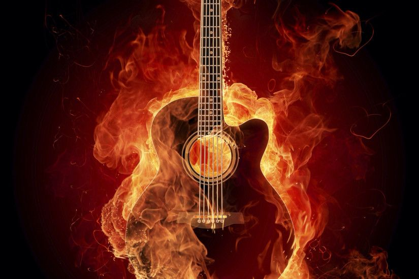 Cool guitar wallpaper