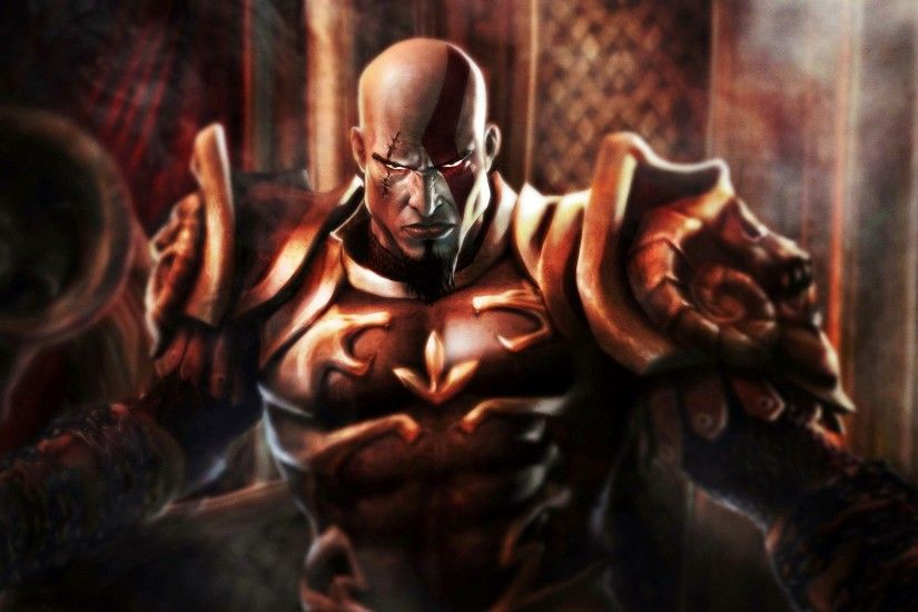 Wallpapers For > God Of War 3 Kratos Wallpaper