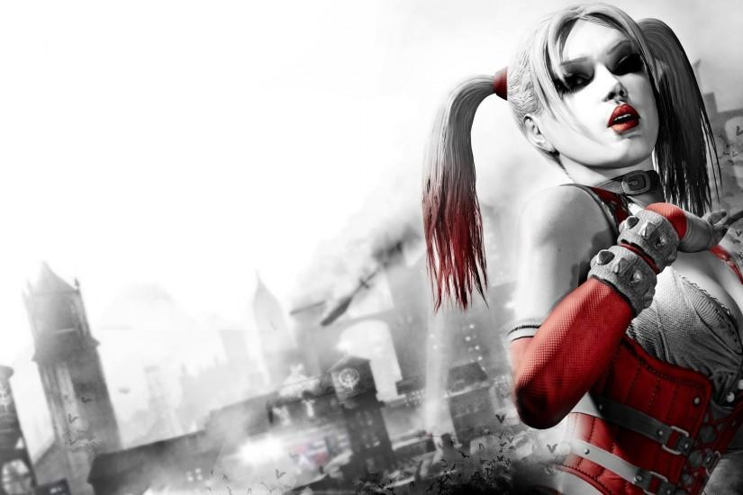 Harley Quinn, Batman, Joker, DC Comics, Digital Art Wallpaper HD