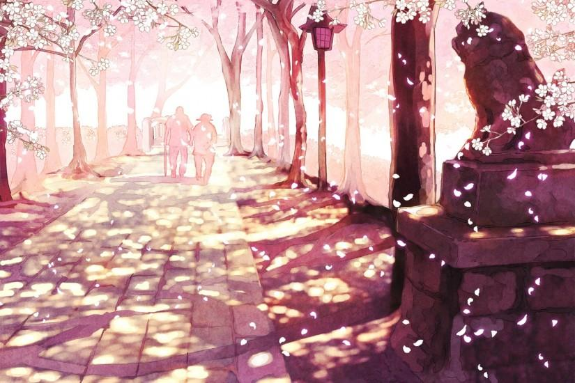 beautiful anime scenery wallpaper 2120x1416 free download