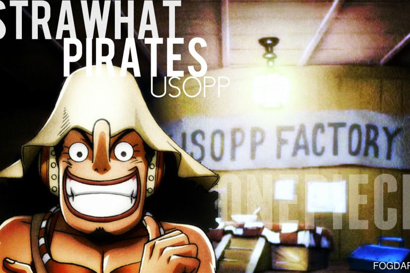 One Piece Usopp Wallpapers Wide Is Cool Wallpapers