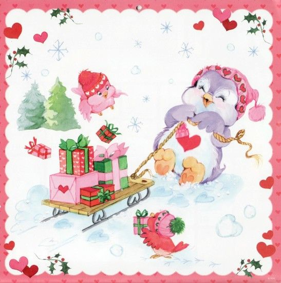 What a cute gift tag this would be. Care Bears