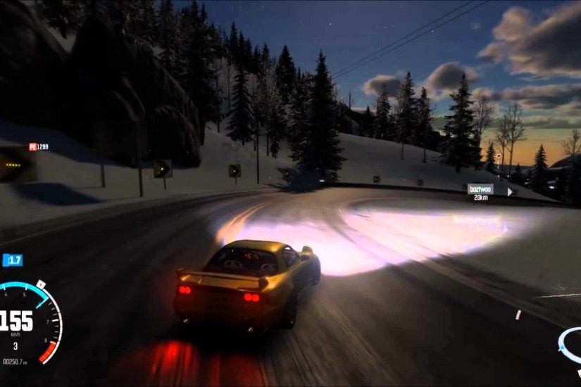 THE CREW WILD RUN: Mazda RX-7 FD Initial D Keisuke Style Downhill - YouTube