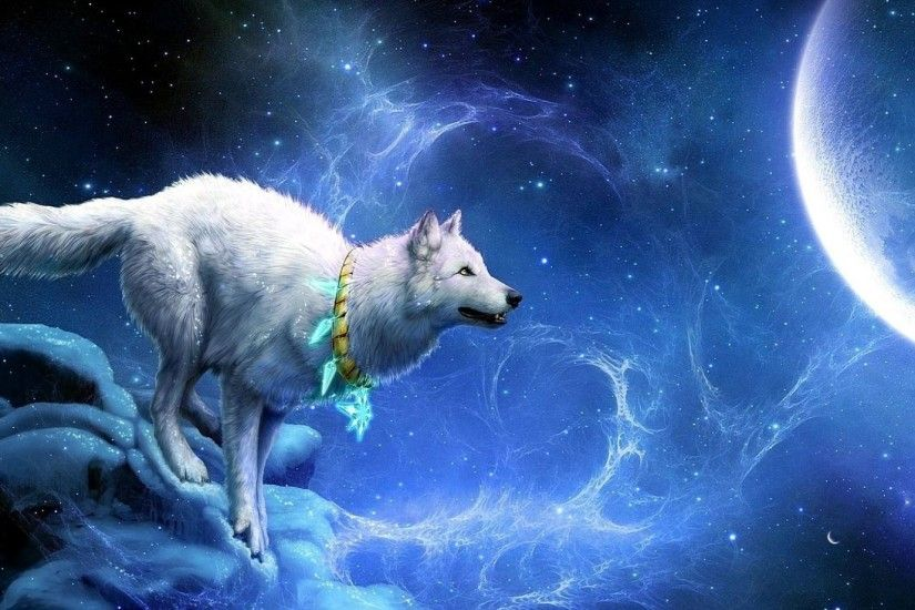 Wolf Breakage Wallpaper