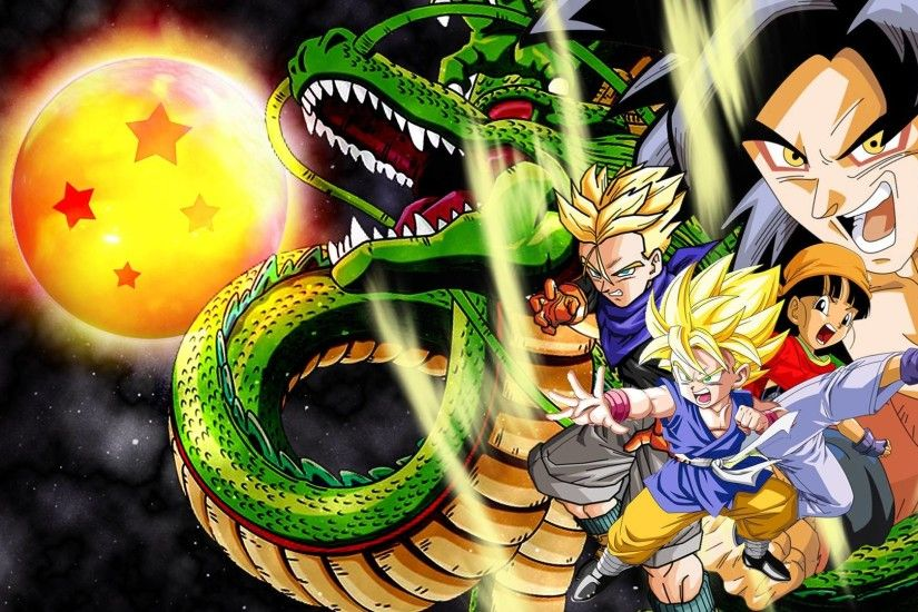 Dragon Ball GT HD Wallpapers - Wallpaper Cave