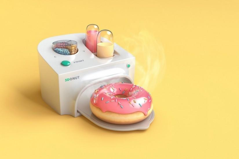 Donut Maker wallpapers and stock photos