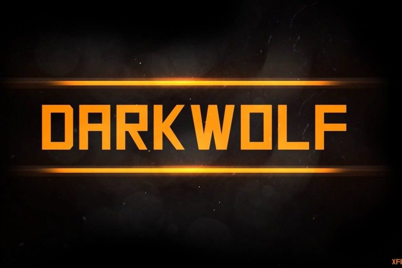 DarkWolf WALLPAPER /Speedart #2