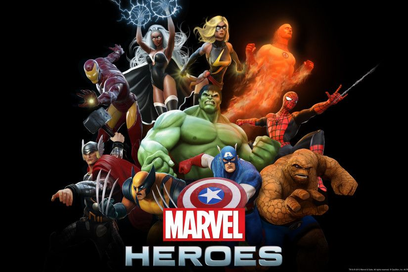 Marvel Heroes Wallpapers, Marvel Heroes Wallpapers by Eleonora Howerton,  D-Screens | HDQ