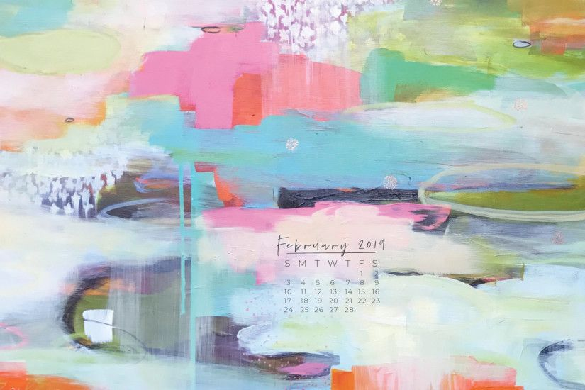 February 2019 Downloadable Desktop Calendar