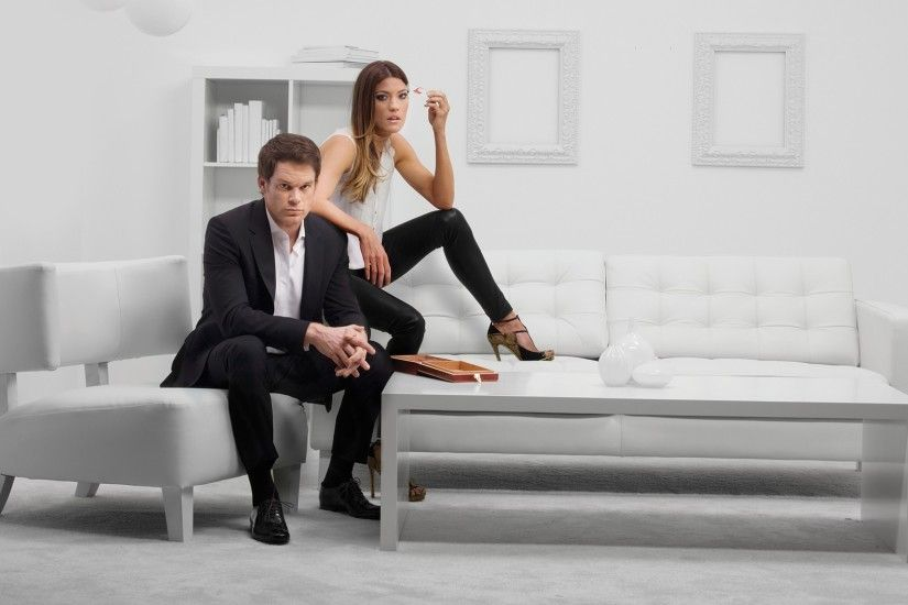 Michael C. Hall, Jennifer Carpenter, Dexter, Dexter Morgan, Debra Morgan,  Black Pants Wallpapers HD / Desktop and Mobile Backgrounds