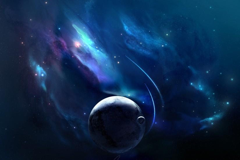 Full HD Wallpapers + Space, Blue, Nebulae, Planets, Spacecrafts, Stars .