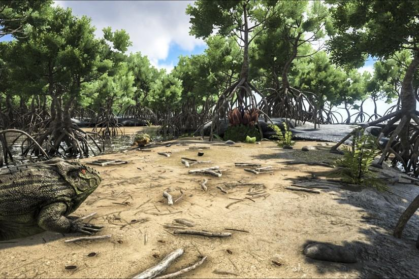 ARK: Survival Evolved - Snow and Swamp Biome!