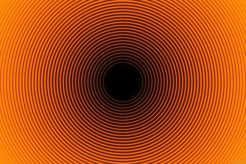 1920x1080 Orange and Black Optical Illusion Wallpaper wallpaper