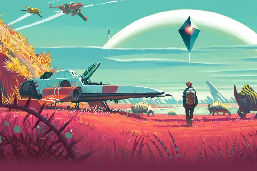 widescreen no mans sky wallpaper 1920x1080 download