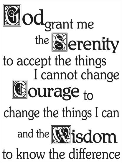 Patanjali and the AA Serenity Prayer