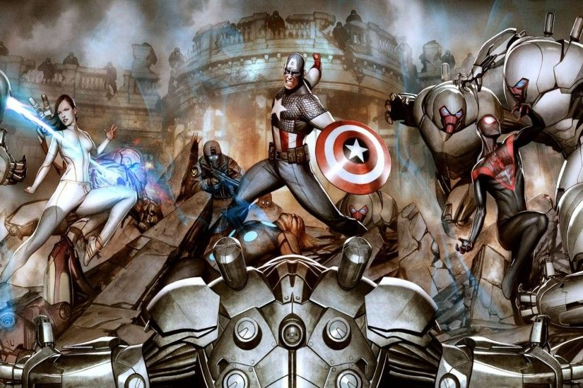 Fearless Defenders Wallpaper 12 - 2560 X 1440
