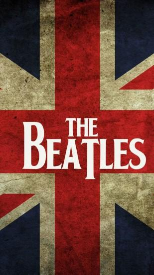 The Beatles UK Flag Android Wallpaper free download