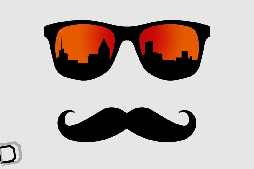 sunglasses mustache like town new-york