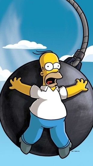 Homer Simpson iPhone Wallpaper - Desktop backgrounds | Desktop backgrounds