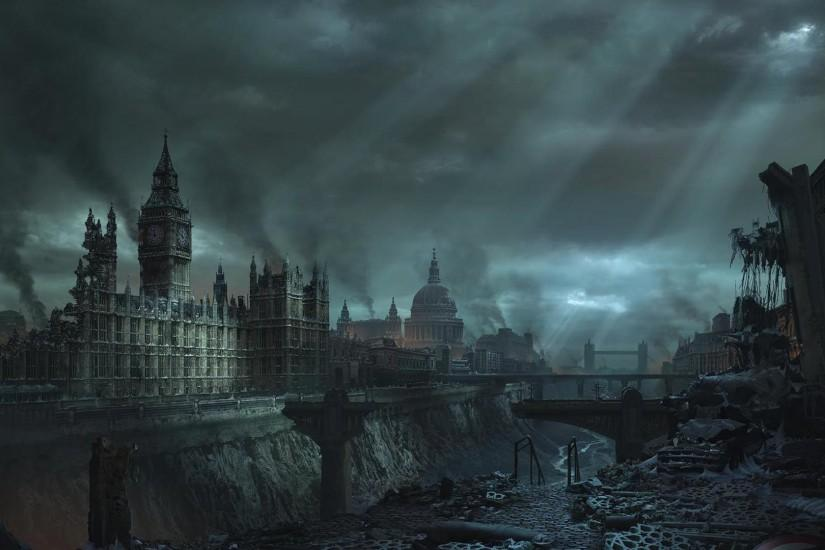London Apocalypse Wallpaper 440931