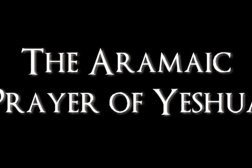 Toning The Aramaic Lord's Prayer of Yeshua with Dale Allen Hoffman - YouTube