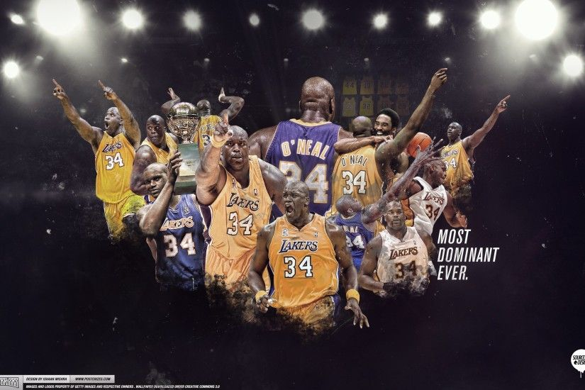 Shaquille O'neal Lakers Wallpaper - Live Wallpaper HD