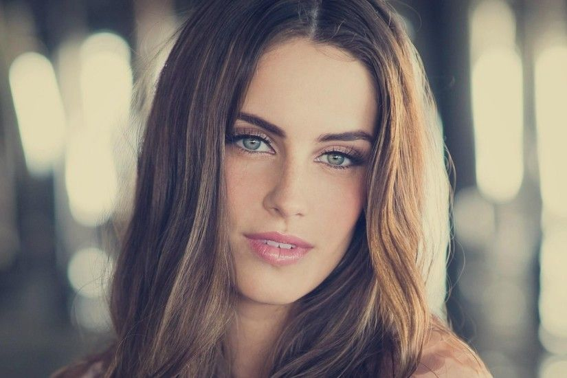 Canadian Actress Girl Jessica Lowndes Blue Eyes HD Wallpaper