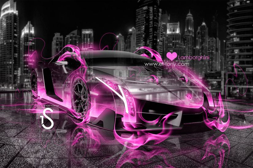 Pink And Black Lamborghini Wallpaper 28 Desktop Background