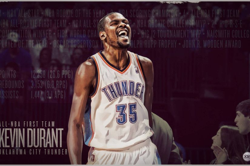 Kevin Durant 2013 All-NBA First Team 1920×1200 Wallpaper
