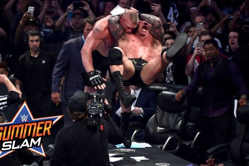 1920x1080 Randy Orton vs. Brock Lesnar: SummerSlam 2016, only on WWE  Network -