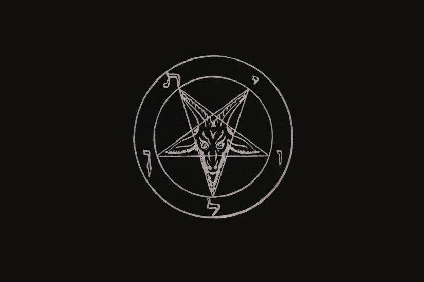 Baphomet Wallpaper Full Hd Kitchen And Living Space Interior
