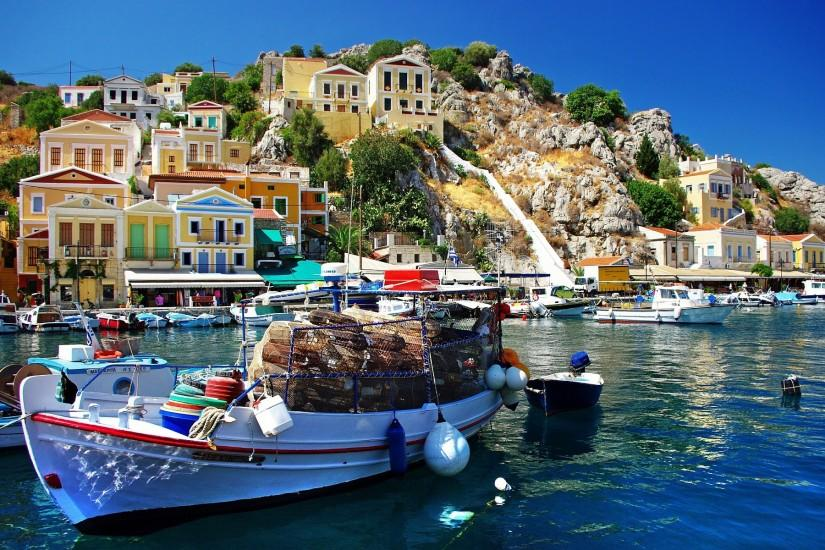 ... Fishing village greece ...