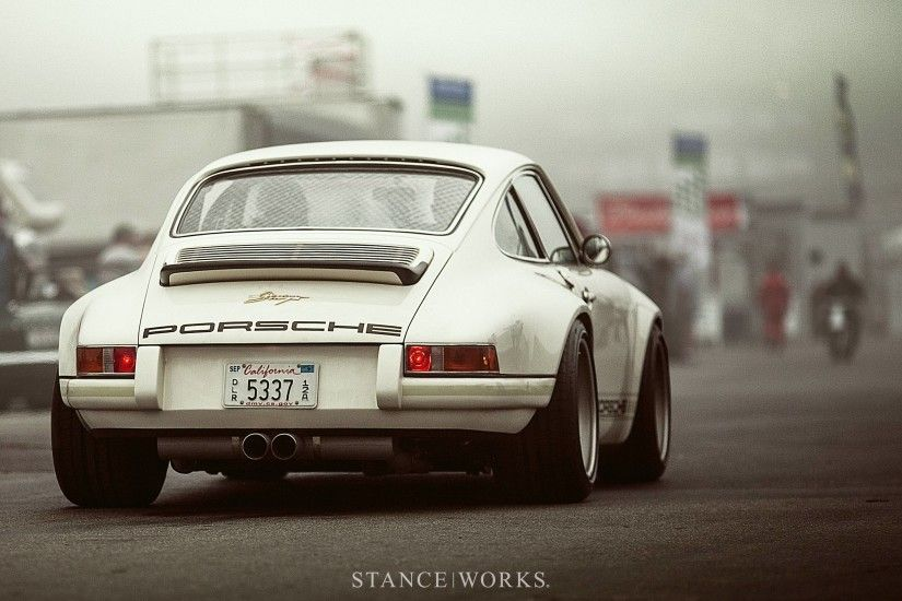 Stance Works - Singer Porsche Desktop Wallpaper