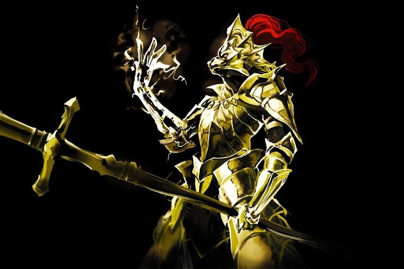 Video Game - Dark Souls Dragon Slayer Ornstein Bakgrund