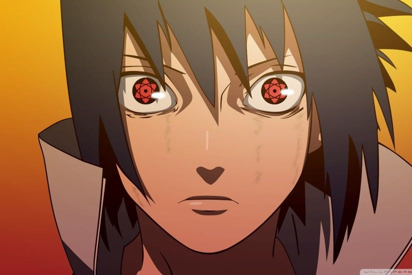 Sasuke Uchiha Sharingan Wallpaper ·①