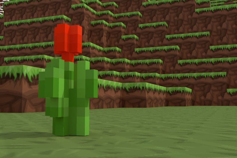 Minecraft red tulip background - Other Fan Art - Fan Art - Show Your  Creation - Minecraft Forum - Minecraft Forum