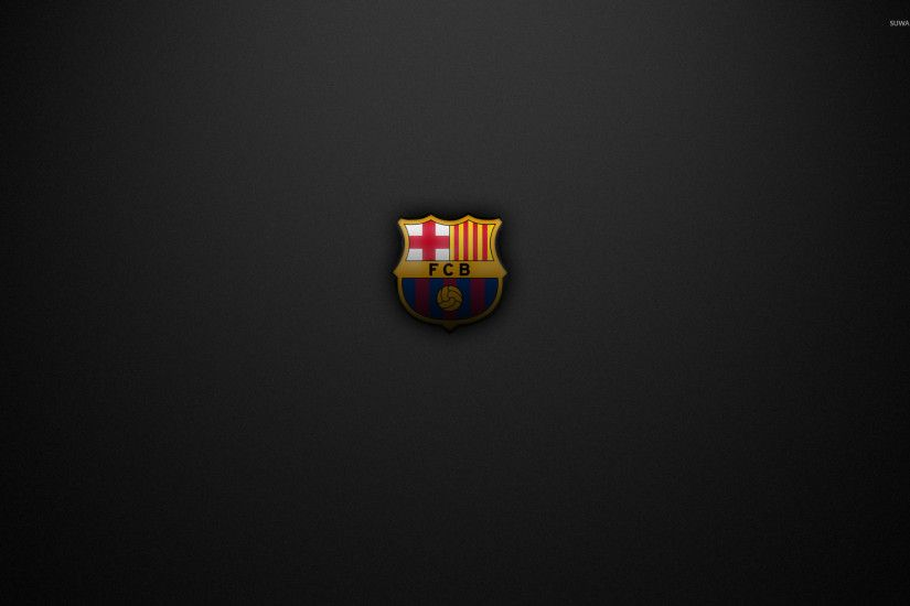 FC Barcelona on a gray texture wallpaper 1920x1200 jpg