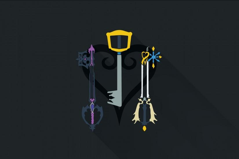 ... Kingdom Hearts 3 flat style wallpaper by Luke9631