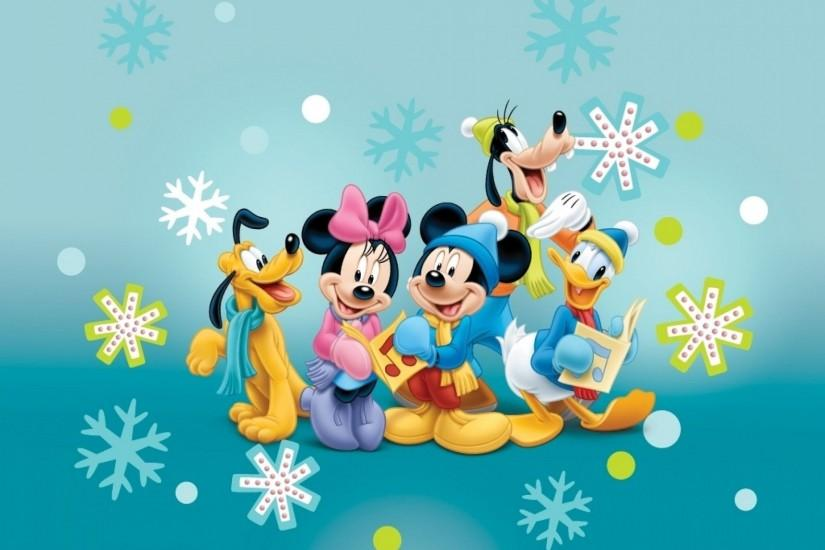 Mickey Mouse And Friends Winter Wallpaper #1708 | Foolhardi.