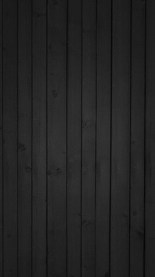 Black Wood Texture Android Wallpaper