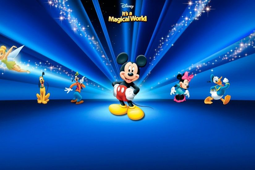 mouse mickey cartoon disney danald minnie goofy backgrounds daisy world  blue sparkling 1 hd 4k high definition windows 10 colourful images  backgrounds ...