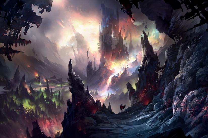 widescreen fantasy landscape wallpaper 1920x1080