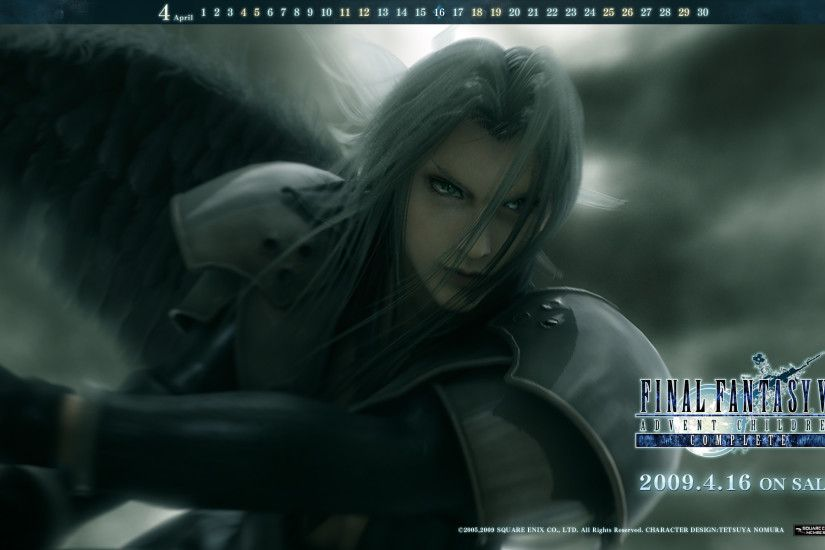 Image - Wallpaper Sexy Sephy Advent Children Complete.jpg | Final Fantasy  Wiki | FANDOM powered by Wikia